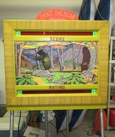 Vintage Carnival, Arcade, Baseball Cards