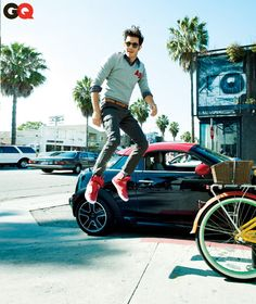 SWOON. Adam Brody, you are my dream man (via GQ)