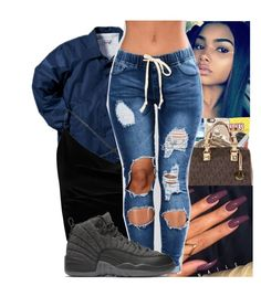 """""""Untitled #166"""" by lilchillshawty on Polyvore featuring Boohoo and NIKE"""