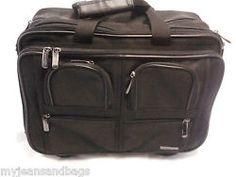 Chanvre Paris Triple Gussett Rolling Travel Bag