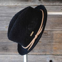 'Roxy' Fedora Hat | Black | Suede Band | Like new | $8 | See Instagram @Robert NOIR to purchase.