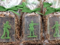 Soldiers Soap Kids Soap Party Favors Army SoldierToy by BBSoaps, $1.90
