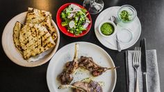 A meal at restaurant of the year, Temporada. Photo: @canberratimes #visitcanberra