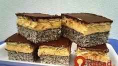 Chod: Zákusky a koláče - Page 19 of 254 - Mňamky-Recepty. Hungarian Desserts, Hungarian Cake, Romanian Desserts, Hungarian Recipes, Other Recipes, My Recipes, Cookie Recipes, Dessert Recipes, Cake Bars