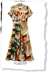 Your LOOK: Midi-Length Dress - clipped from page 52 of InStyle, Jul 2014 issue by the Netpage app.