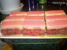 Videla a jedla som už mnoho receptov na punčový koláč, ale tento, ktorý mám od jednej kamarátky je podľa našej rodiny ten naj. Je drahší (ide tam 19 vajec), ale raz za čas sa to dá zvládnuť :-).