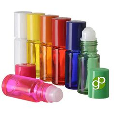 25 5ML mini bottles empty glass roll on bottles by GrandParfums