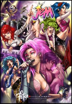 JEM is truly outrageous by Elengwat.deviantart.com