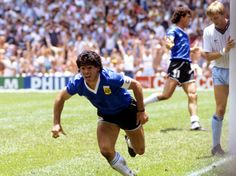 Diego Maradona ~ Scorer of the greatest World Cup goal ever ~ v's England in Mexico ~ 1986