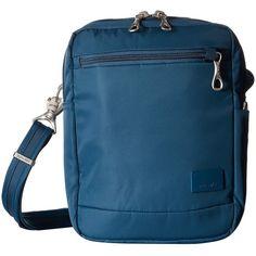 9d2ae56cee9f Pacsafe Citysafe CS75 Anti-Theft Crossbody Travel Bag (Teal) Cross.