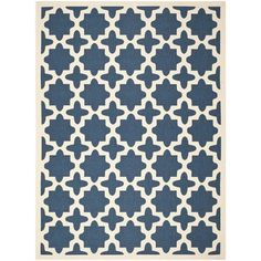 @Overstock.com - Safavieh Indoor/ Outdoor Courtyard Navy/ Beige Rug (8' x 11') - This Safavieh indoor outdoor rug provides your living room with an elegant, simple centerpiece. The beige background is accented with blue designs. Made of polypropylene, the rug is easy to clean and durable enough for both indoor and outdoor settings  http://www.overstock.com/Home-Garden/Safavieh-Indoor-Outdoor-Courtyard-Navy-Beige-Rug-8-x-11/8059798/product.html?CID=214117 $180.19