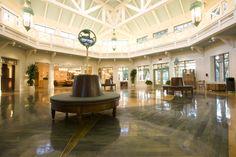 Disney Resort Hotels, Disney's Port Orleans Resort - Riverside Lobby, Walt Disney World Resort