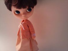 Soft peach jacket by RainbowDaisies on Etsy