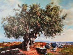 imagenes-de-arboles-gigantes-en-paisajes-pintados-con-oleo