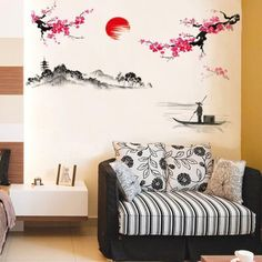 japanese wall murals Google Search Bedroom Wall Painting