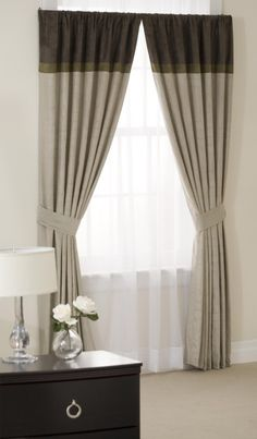 Modern curtains - love the style, hate the colour