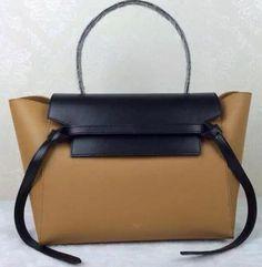 Celine Belt Bag Original Leather CLA98312 Wheat&Black