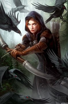 Your place to buy and sell all things handmade Dragon Age Inquisition Leliana der Spionagemeister Open Edition Kunstdruck 11 x 17 Zoll Fantasy Warrior, Fantasy Rpg, Medieval Fantasy, Fantasy Artwork, Final Fantasy, Fantasy Portraits, Dragon Age Characters, Fantasy Characters, Female Characters