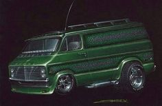 Dodge Van artwork