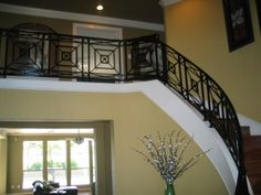 modern rot iron | Modern Wrought Iron Banisters by CerdaFied, Houston Texas Wrought Iron Banister, Banisters, Stair Railing, Railings, Stairs, Stair Case, Houston, Sweet Home, Texas