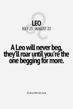 1000+ images about Quotes & Sayings on Pinterest | Leo, Leo zodiac ...