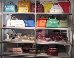 Smorgasbord of Handbags at our Provincetown store