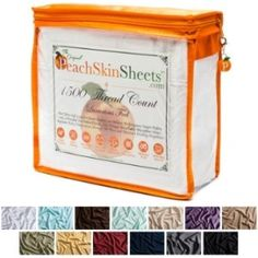PeachSkinSheets Set Giveaway - ends 2/14!