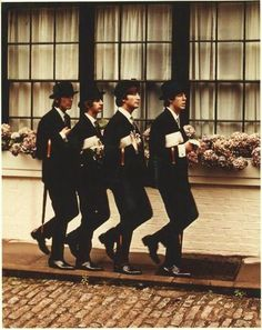 The Beatles...they are superheros.
