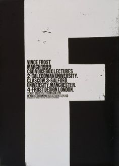 Vince Frost, March 1999.