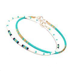 Bijoux en or bracelet Bracelet Simple bleu minimal chaque jour Bracelet Skinny Bracelet Bracelet Simple ✴✴✴ LIVRAISON GRATUITE…                                                                                                                                                                                 Plus