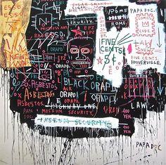Museum Security (Broadway Meltdown,1983) - Jean-Michel Basquiat