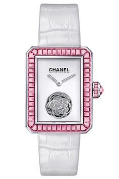 Chanel Watch, Premiere Flying Tourbillon Pink Sapphires