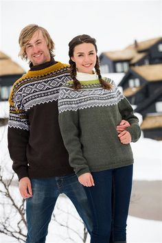Marius genser #marius #sandnesgarn Crochet Stitches, Knit Crochet, Norwegian Knitting, Fair Isle Knitting, Nordic Style, Wool Sweaters, Men Sweater, Vest, Pullover