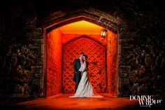 Berkeley Castle Wedding Photography by Dominic Wright Photography creative lighting using MagMod and Nikon