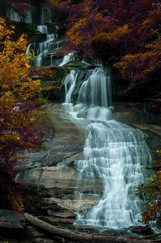 Twin Falls (Pickens, South Carolina) by Edward Overstreet CPP on 500px