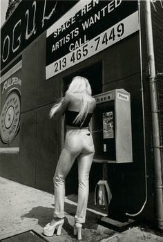 Early 1970s street fashion by Jeanloup Sieff....check out those Platform shoes....I used to wear those to work every day back than...oh my aching feet...lol