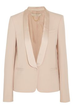 Need a shawl collar jacket for church, dinner out, volunteer board meetings etc.  Inspiration: Vanessa Bruno from Net a Porter site 1/14sc
