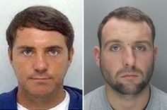 Photos of sports event manager Timmy Donovan, 30 (left) and football consultant Andrew Taylor, 29 (right), who killed off-duty policeman Pc Neil Doyle in a city centre Murder Most Foul, Event Management, Mug Shots, True Crime, Liverpool, How To Become, Hollywood, Football, History