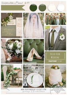 PANTONE Color Report Fall 2015 Dried Herb Wedding