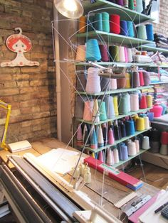 Beautiful bulk #thread display