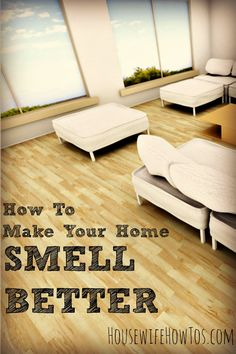 """Would you know if your home smelled bad? Most of us get """"nose blind"""" to the smell of our homes. Check out this list of places to clean to make sure your home smells fresh without filling the air with allergy-triggering sprays."""