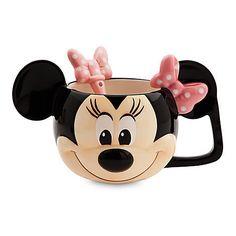 Disney Store, Minnie Mouse, Disney mugs Disney Coffee Mugs, Disney Mugs, Disney Gift, Disney Pixar, Deco Disney, Cadeau Disney, Tea Party Outfits, Disney Store, Minnie Mouse Mug