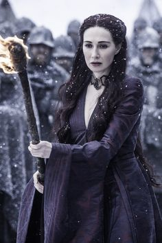 Pin for Later: 450 Pop Culture Halloween Costume Ideas Melisandre From Game of Thrones