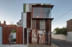 Extreme Repurposing in Sydney, Tin Shed by Rafaello Rosselli