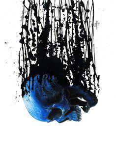 Prophetic Vision, une vanité contemporaine de l'artiste Christophe Mabillon dit Cmab en édition limitée.