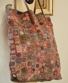 Sophie Digard crochet wool handbag