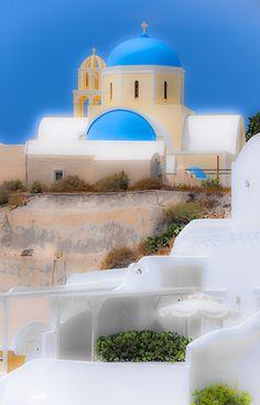 Catholic Church, Fira, Santorini