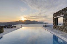 S U N S E T by thesuites MYKONOS #greece #mykonos #escape #sunset #thesuites #residences #nohotels