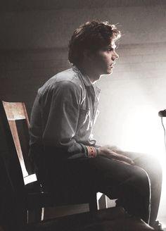 Evan Peters as Kit Walker in American Horror Story, Asylum.