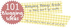 101 blogging ideas #blog #blogging #blogger #blogideas